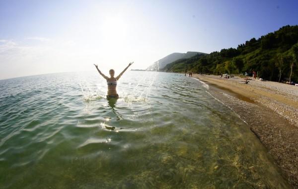 Półwysep Conero – czyli chwila na plaży przy Portonovo