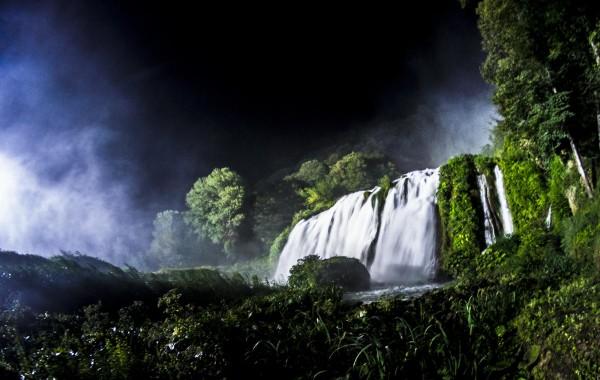 Wodospad Cascata delle Marmore w Terni