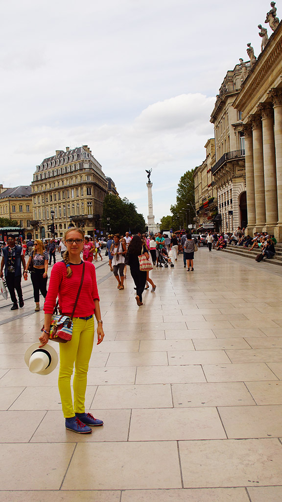 Bordeaux Place de la Comedie