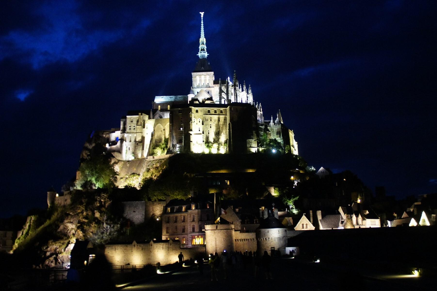 Mont Saint Michel – szok, szok