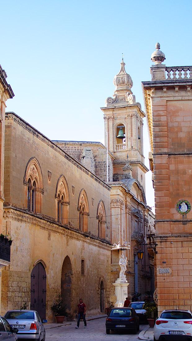 Kosciół Karmelitów w Mdina/Malta