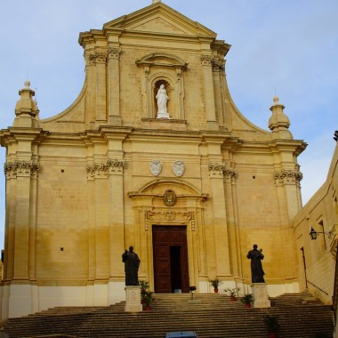 Cathedral of the Assumption w Il-Kastell w Vistoria (Rabat) /Gozo