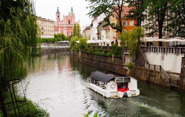Lublana – mała stolica Słowenii