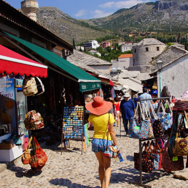 Mostar, targ