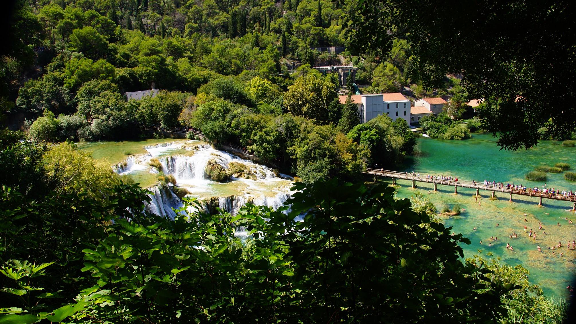 Krka Park, Skradinski Buk