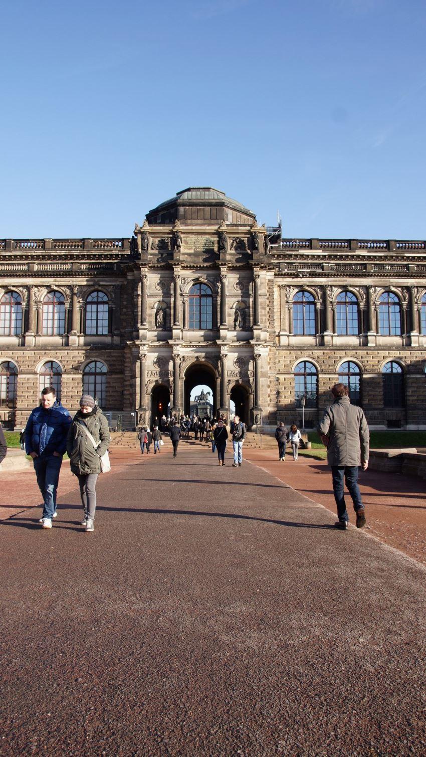 Zwinger, Dresden, Drezno, Niemcy