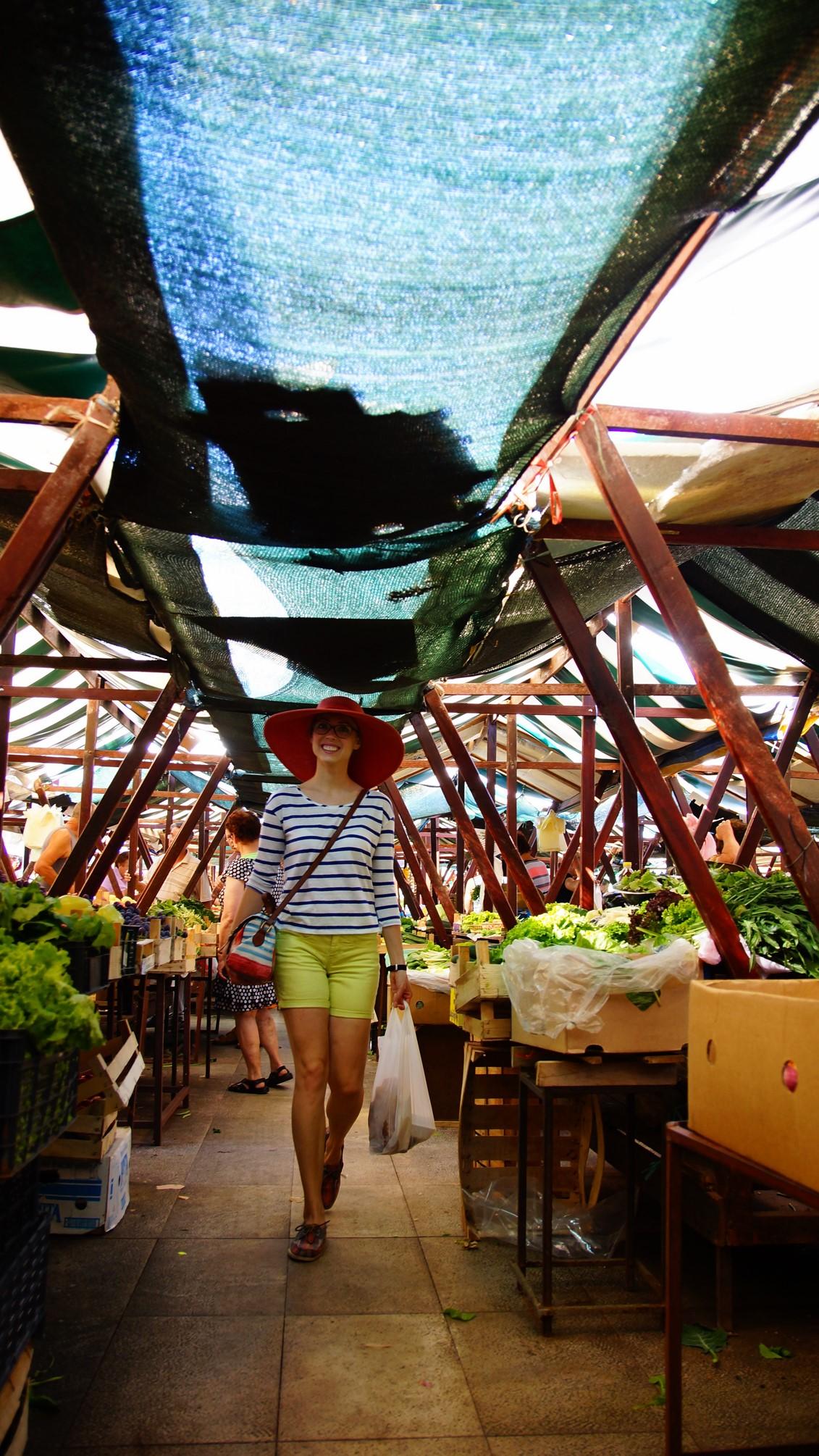 Food market, Zadar