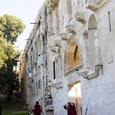 Złota brama i rzymianie - Split