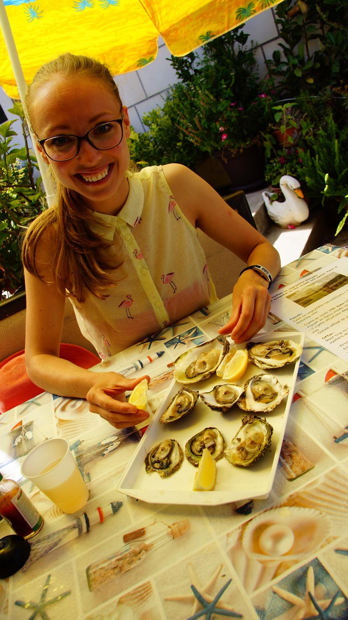 Mali Ston, oysters
