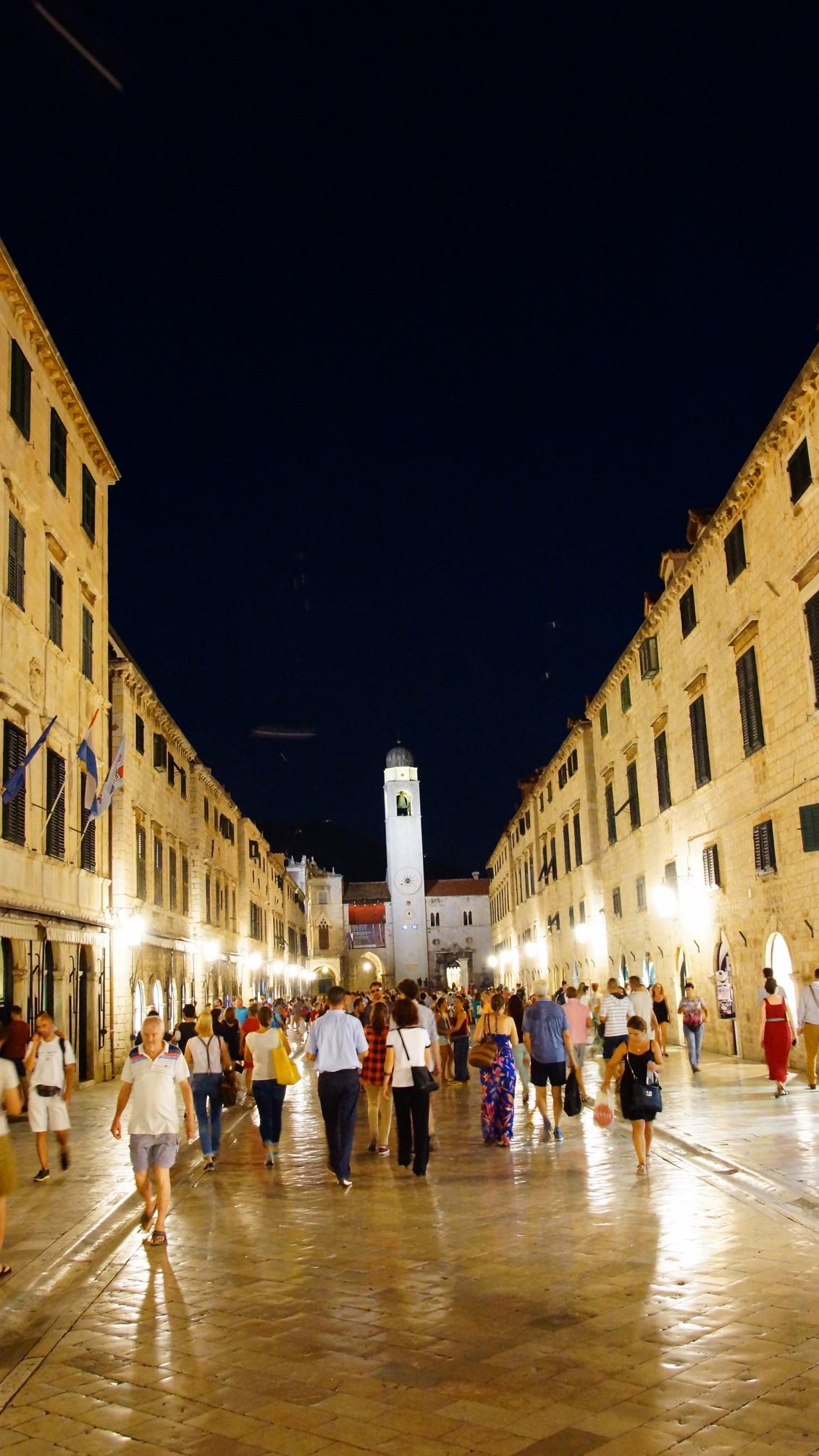 Dubrovnik, Stradun, Chorwacja