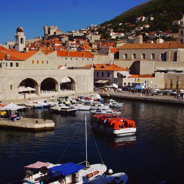 Stary port, Dubrovnik, Croatia