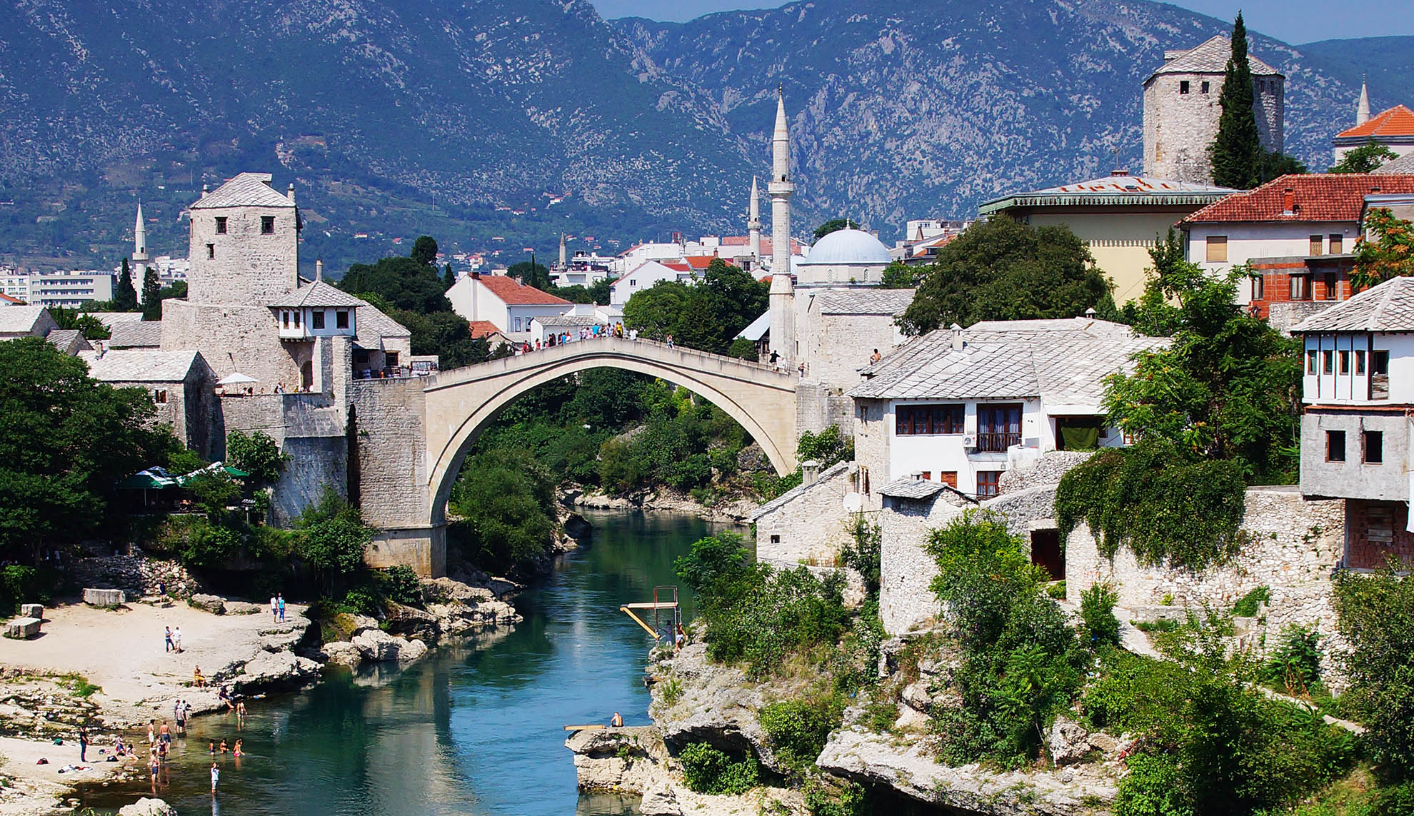 Mostar, Stari Most, Bośnia i Hercegowina