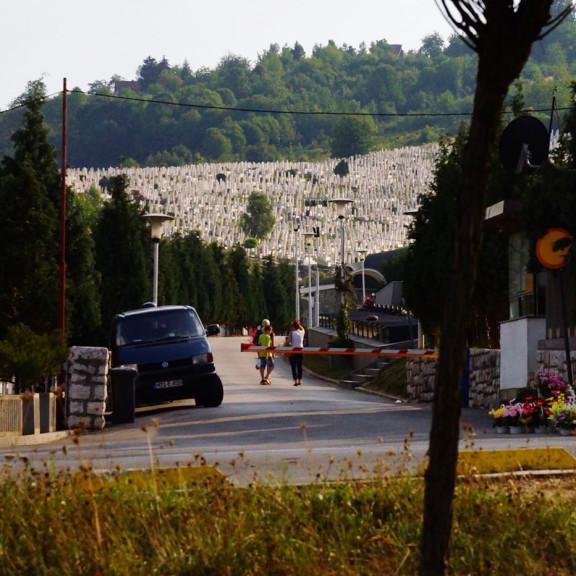 Sarajevo cementary, Bosnia and Herzegovina
