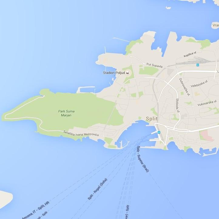 split-map