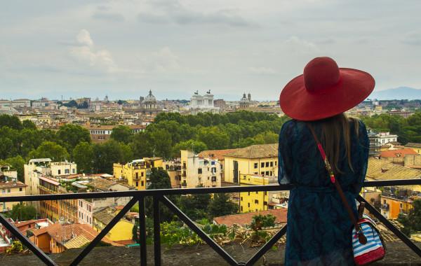 Zatybrze, czyli najlepsza pizza w Rzymie, widoki i trochę wytchnienia