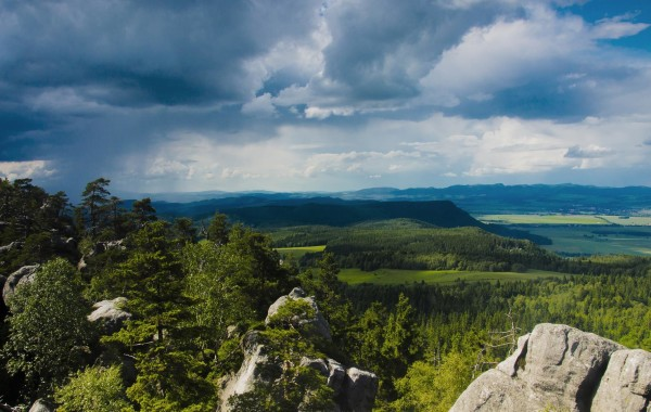 Szczeliniec Wielki - panorama
