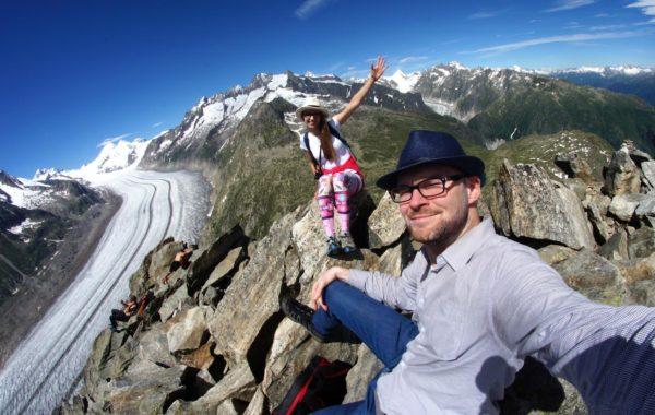 Przejażdżka na lodowiec – czyli szwajcarskie serpentyny i Eggishorn