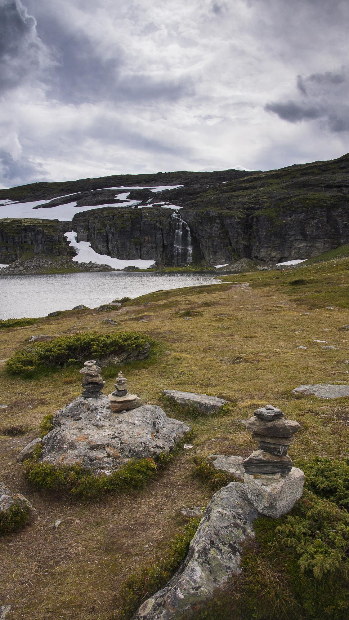 Aurlandsfjellet - Droga Śnieżna, Norwegia