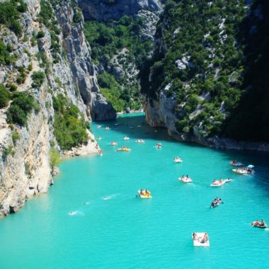Kanion Verdon, Włochy