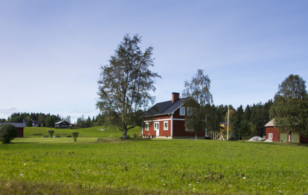 Red houses, Sweden