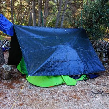 namiot pod plandeką
