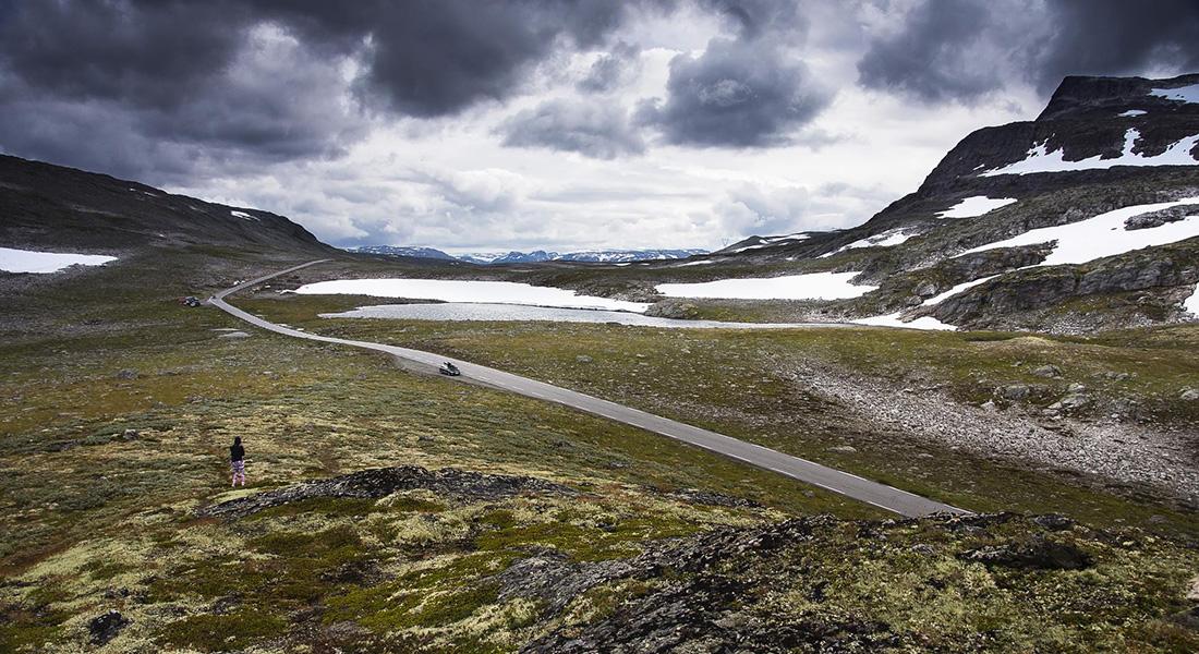 Aurlandsfjellet – Droga Śnieżna