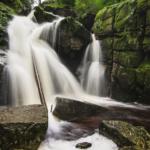 Vodopád Černého potoka, Góry Izerskie