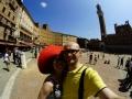 Piazza del Campo i Palazzo Publico w Sienie