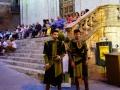 Przygotowania do pochodu Corteo dei ceri