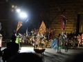 Przedstawienie na Piazza Grande w Montepulciano