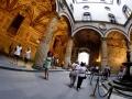Kopia putta Verrocchia na dziedzińcu Vasariego w Palazzo Vecchio