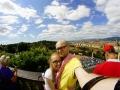 Panorama Florencji z Piazzale Michelangelo