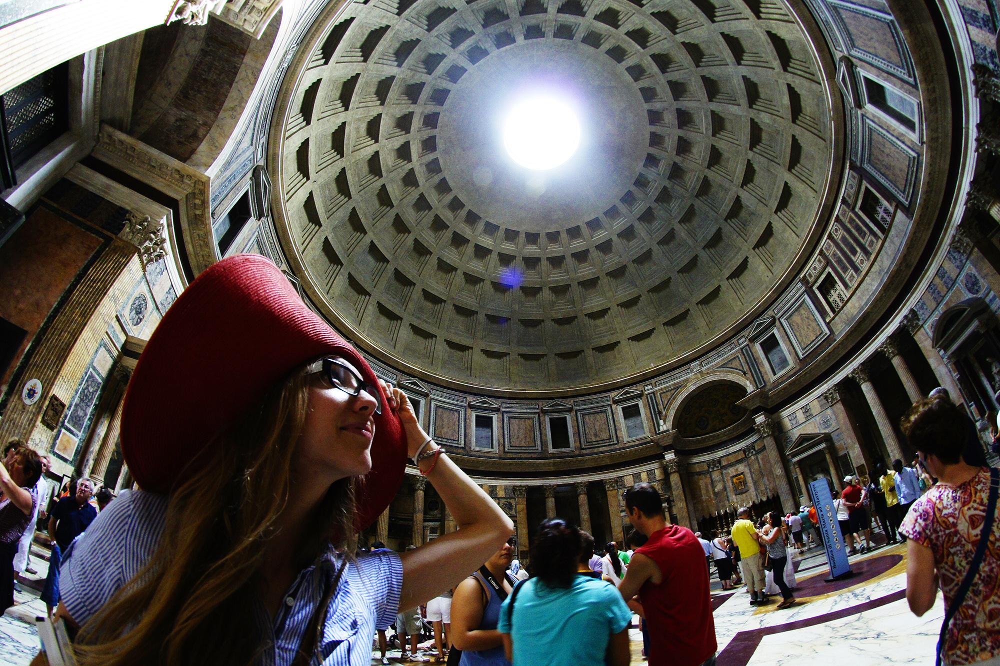 W Panteonie