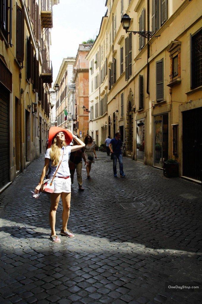 Uliczka w Rzymie