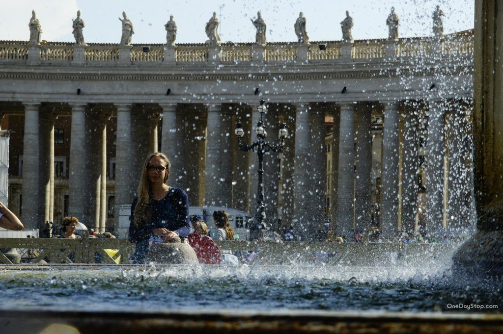 Plac Świętego Piotra, Watykan