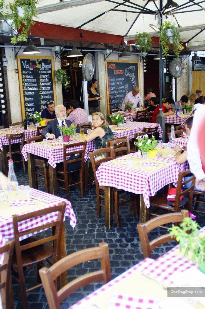 Restauracja na Campo di Fiori