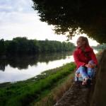 Chinon, nad rzeką Vienne