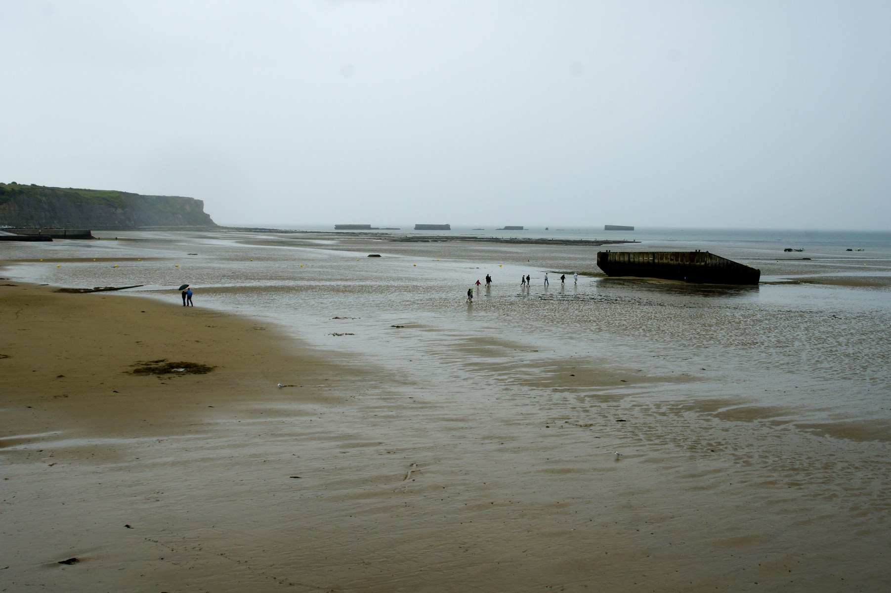 Arromanches, Pointe du Hoc, Francja