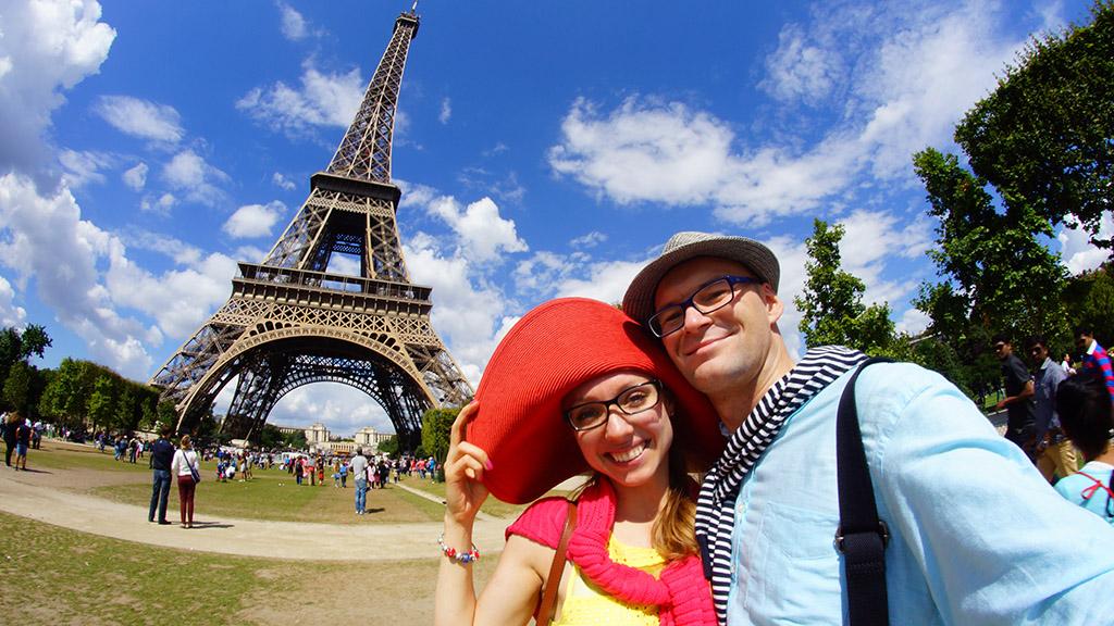 Paryż, Wieża Eiffla
