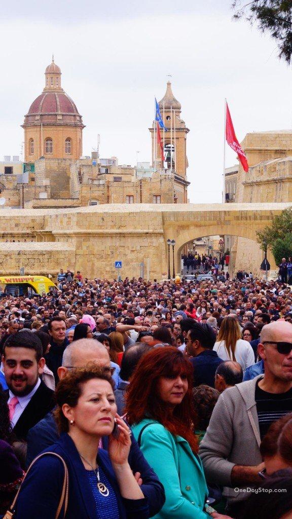W oczekiwaniu na pochód - Vittoriosa