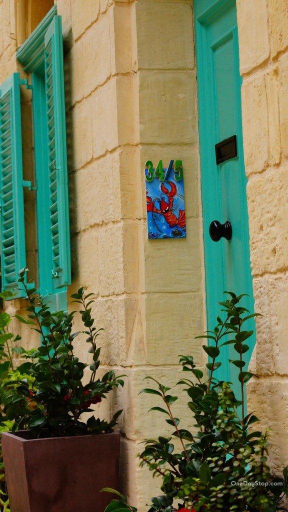 Ozdoby domów mieszkańców Vittoriosy