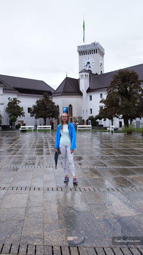 Grad, zamek, Lublana, Slovenia