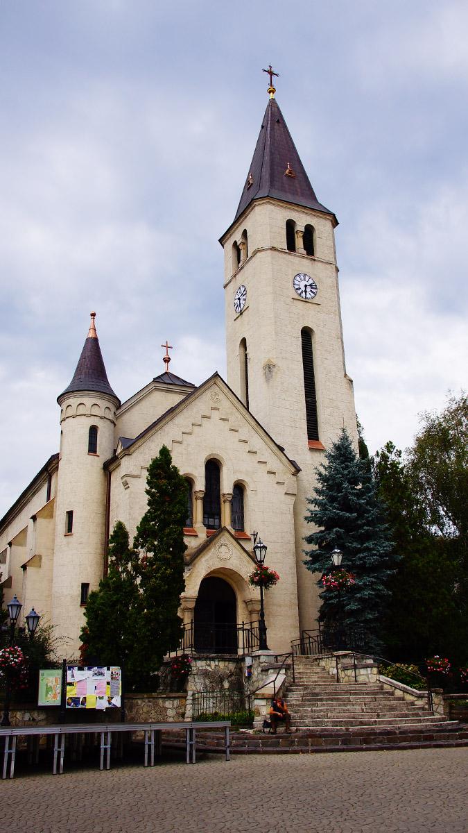 Tokaj, kościół, centrum