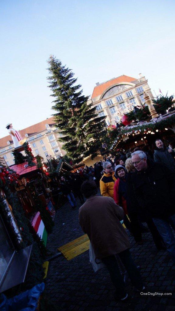 Dresden, Striezelmarkt , Jarmark, Drezno
