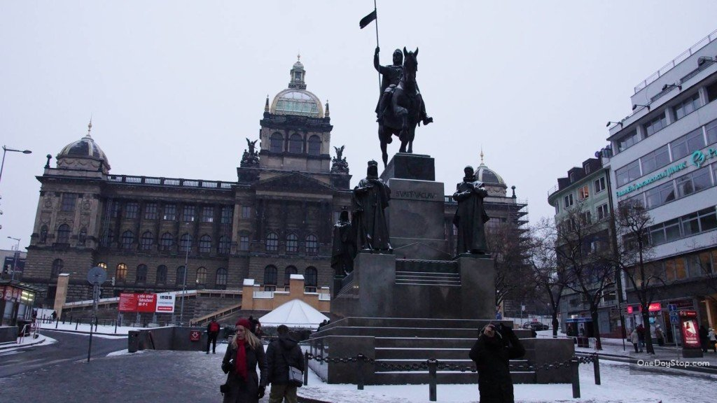 Mustek, Praga