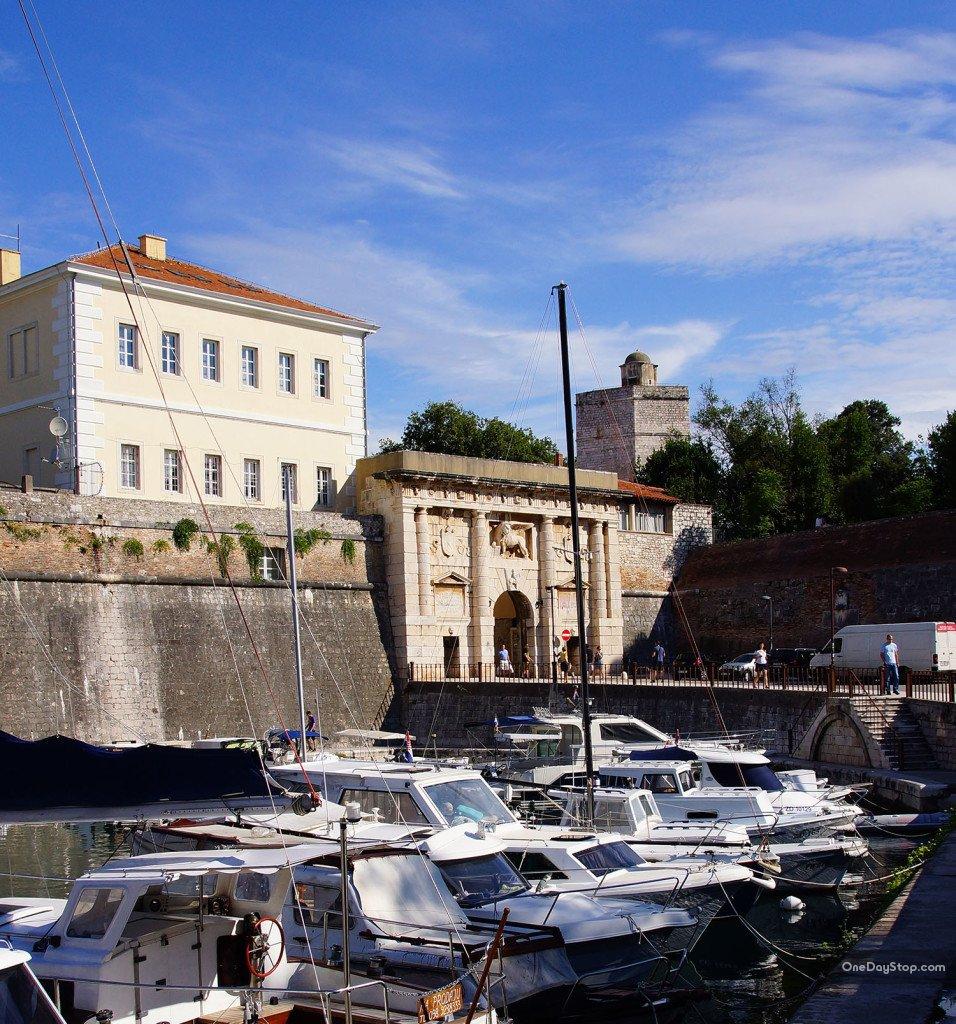 Zadar, Brama Londowa, Land Gate