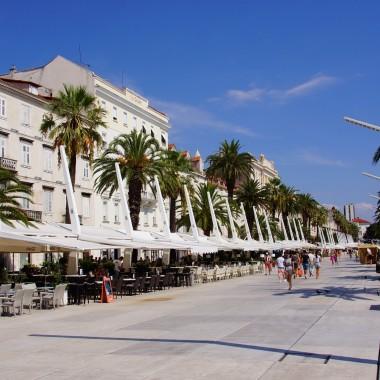 Split, Chorwacja, Promenada