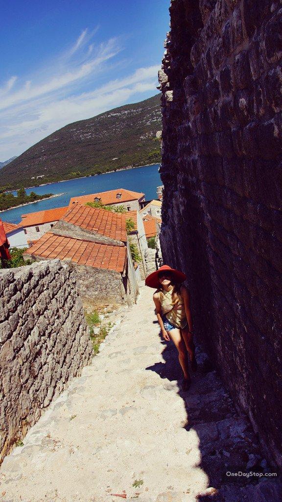 Mali Ston Wall - Pljesac, Croatia