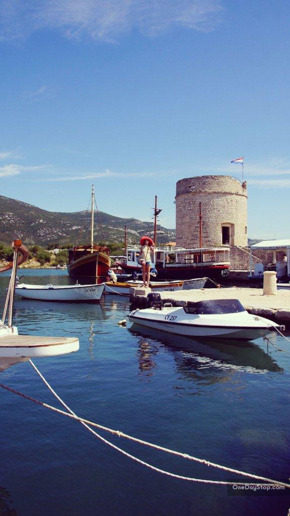 Mali Ston, port, Chorwacja