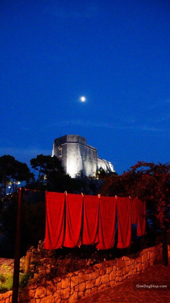 Dubrovnik, Lovrijenac, Twierdza św. Warzyńca, Chorwacja